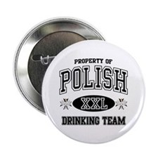 "Polish Drinking Team 2.25"" Button (10 pack)"