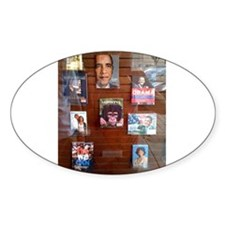 Book Store Window Oval Decal