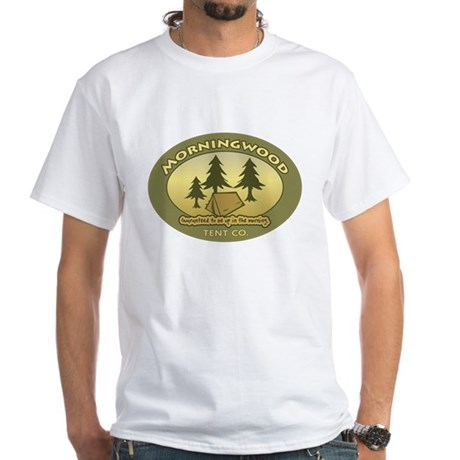 Morningwood Tent Co. White T-Shirt