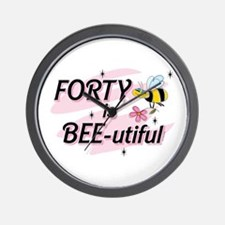 BEE-utiful 40 Wall Clock