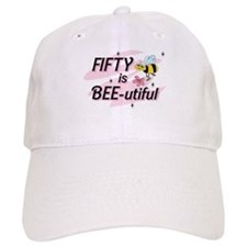 BEE-utiful 50 Baseball Cap