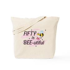 BEE-utiful 50 Tote Bag