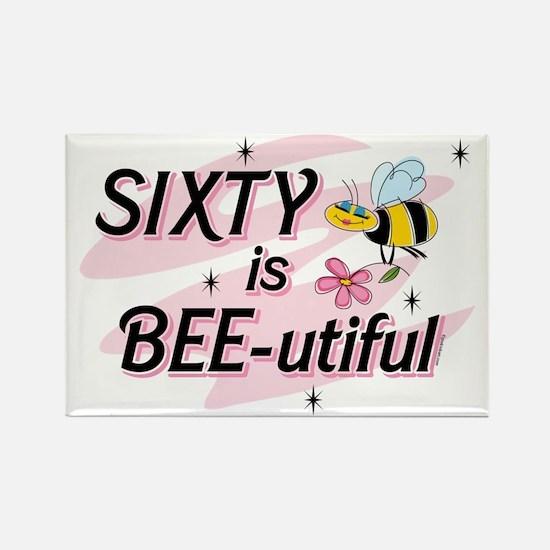 BEE-utiful 60 Rectangle Magnet