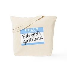 Twilight - Edward's Girlfriend Tote Bag