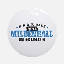 Mildenhall Air Force Base Ornament (Round)