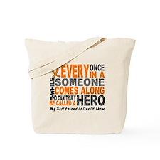 HERO Comes Along 1 Best Friend LEUK Tote Bag
