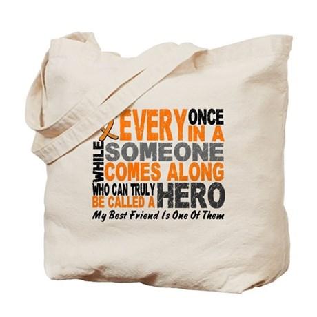 HERO Comes Along 1 Best Friend LEUK Tote Bag