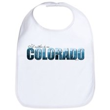 rather be in Colorado (blue) Bib