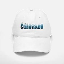 rather be in Colorado (blue) Baseball Baseball Cap