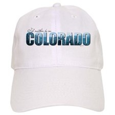 rather be in Colorado (blue) Baseball Cap