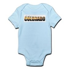 I'd Rather Be In Colorado Infant Creeper