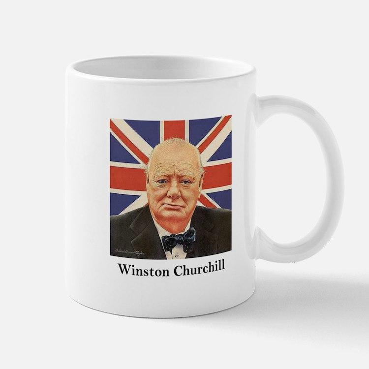 """Winston Churchill"" Small Small Mug"