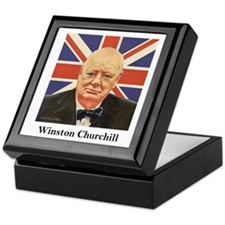 """Winston Churchill"" Keepsake Box"
