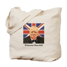 """Winston Churchill"" Tote Bag"