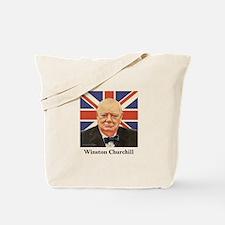 """""""Winston Churchill"""" Tote Bag"""
