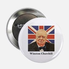 """Winston Churchill"" 2.25"" Button"
