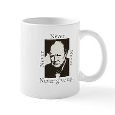 """Never Give Up"" Mug"