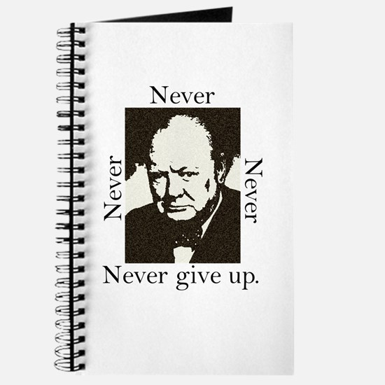 """""""Never Give Up"""" Journal"""