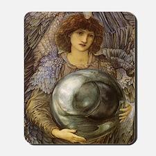 Days of Creation by Burne Jones Mousepad