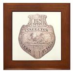 Steamboat Inspector Framed Tile