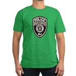 N.J. Capitol Police Men's Fitted T-Shirt (dark)