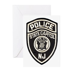 N.J. Capitol Police Greeting Cards (Pk of 10)