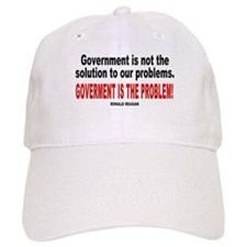 Ronald reagan quote Baseball Cap