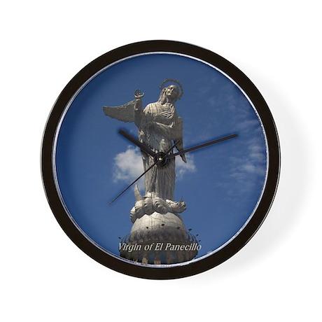 Virgin of El Panecillo Wall Clock