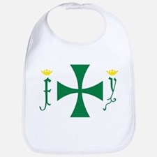 Christopher Columbus Flag Bib