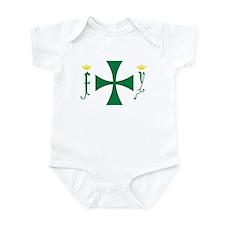 Christopher Columbus Flag Infant Bodysuit