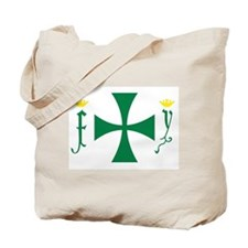 Christopher Columbus Flag Tote Bag