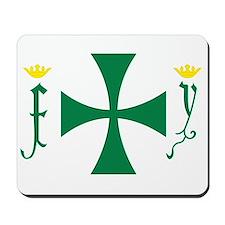 Christopher Columbus Flag Mousepad