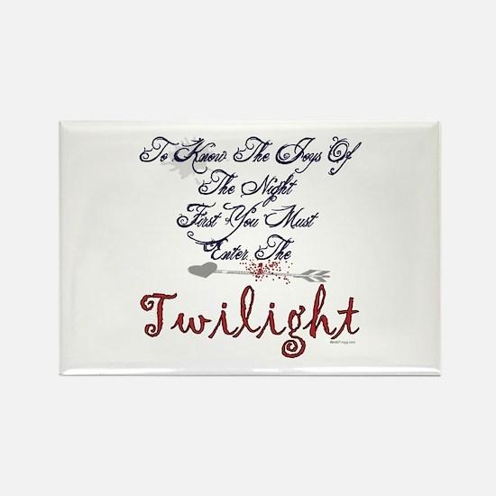 Twilight Joys Of The Night Rectangle Magnet