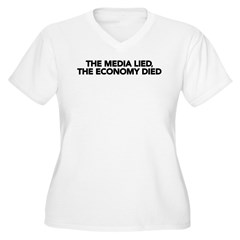 The Media Lied, The Economy Died T-Shirt