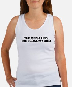 The Media Lied, The Economy Died Women's Tank Top