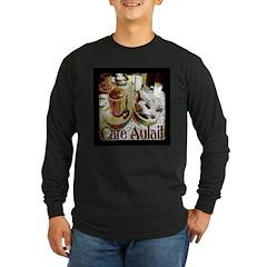 Beignets Long Sleeve Dark T-Shirt