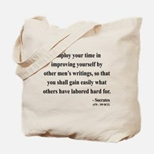 Socrates 16 Tote Bag