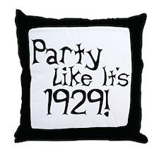 Economy Humor Throw Pillow
