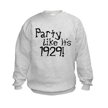 Economy Humor Kids Sweatshirt