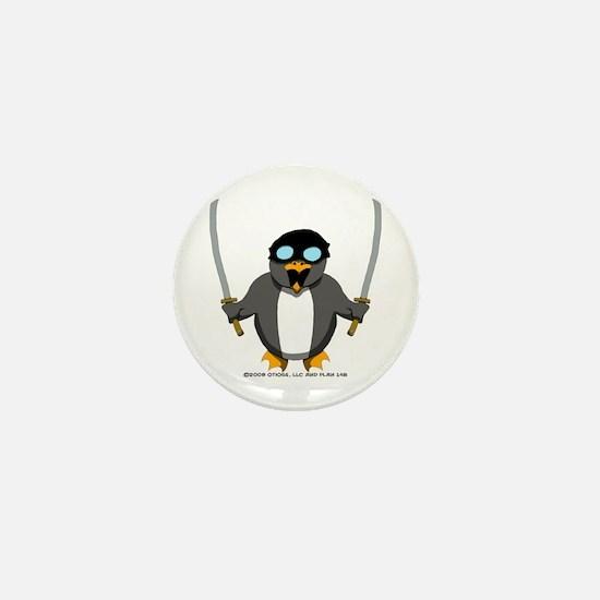 Penguin 1 Mini Button