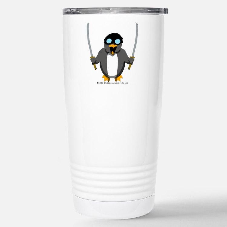 Penguin 1 Stainless Steel Travel Mug