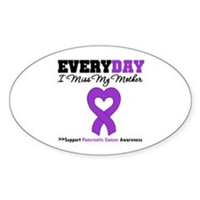 PancreaticCancerMother Oval Sticker (50 pk)