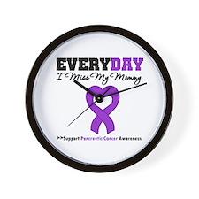 PancreaticCancerMommy Wall Clock