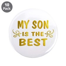 """Son 3.5"""" Button (10 pack)"""
