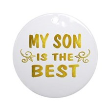 Son Ornament (Round)