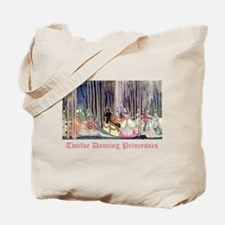 Twelve Dancing Princesses Tote Bag