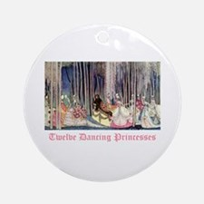 Twelve Dancing Princesses Ornament (Round)