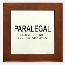 Paralegal Framed Tile
