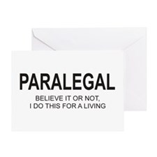Paralegal Greeting Card