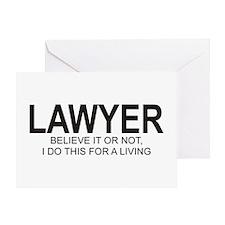 Lawyer Greeting Card